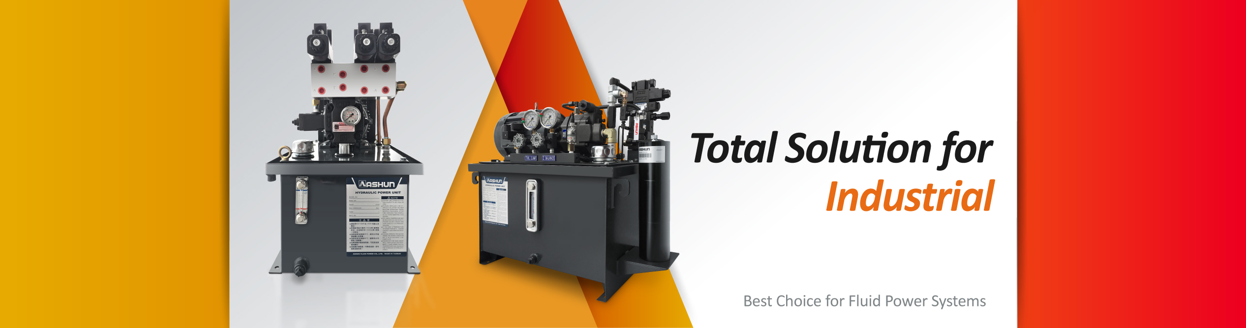 Total Solution for Industrial